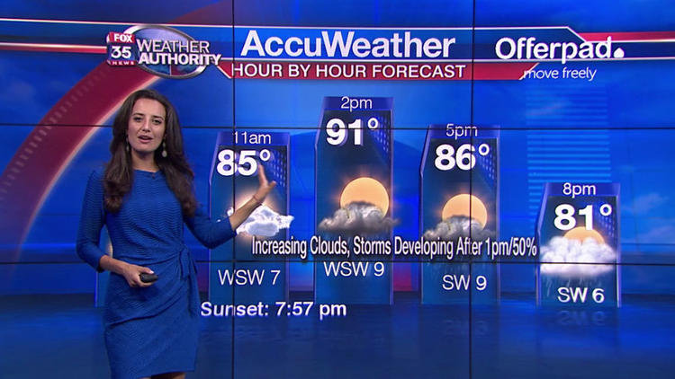 Video: Weather forecast for Wednesday, Aug. 22