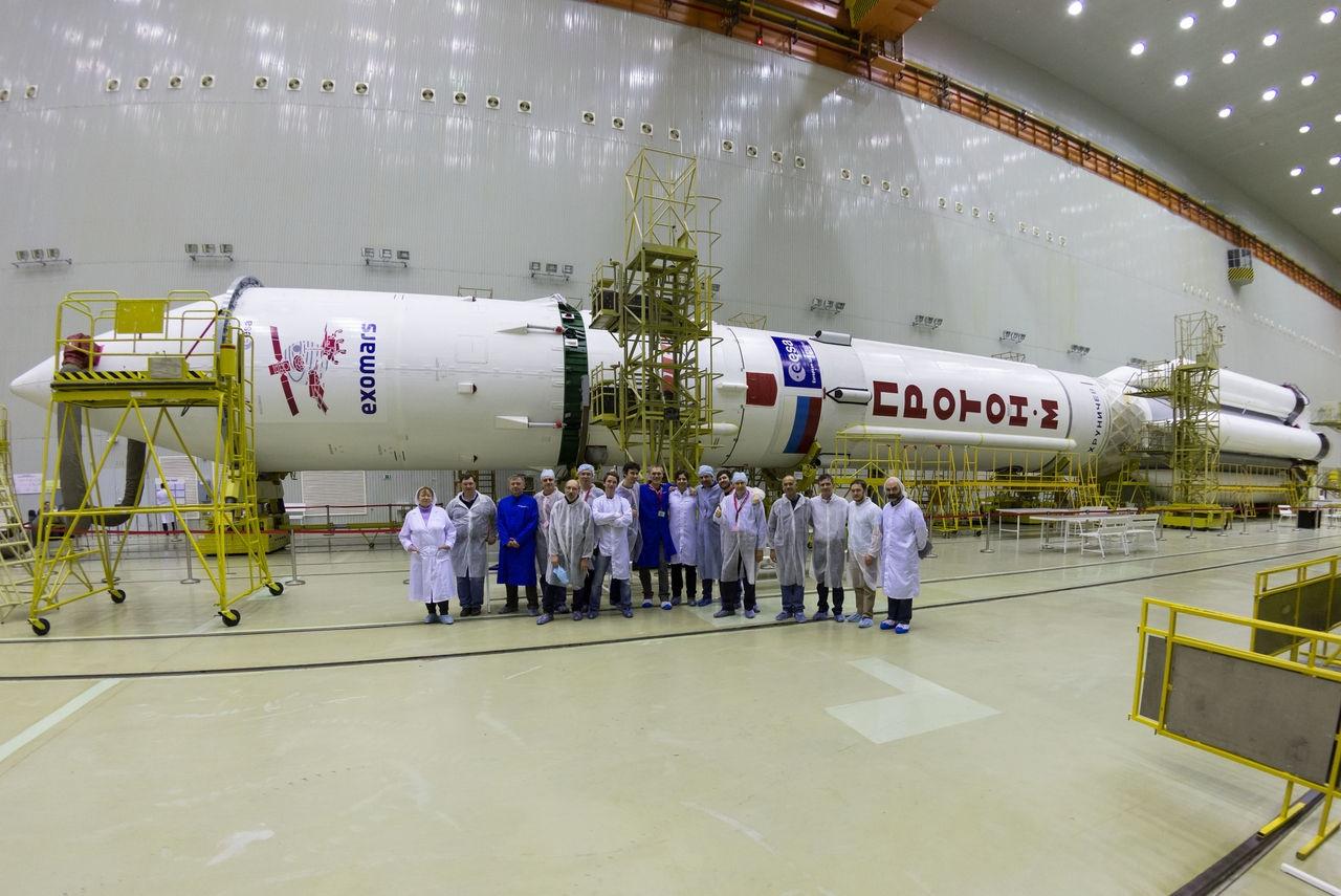 THE ESA'S EXOMARS MISSION