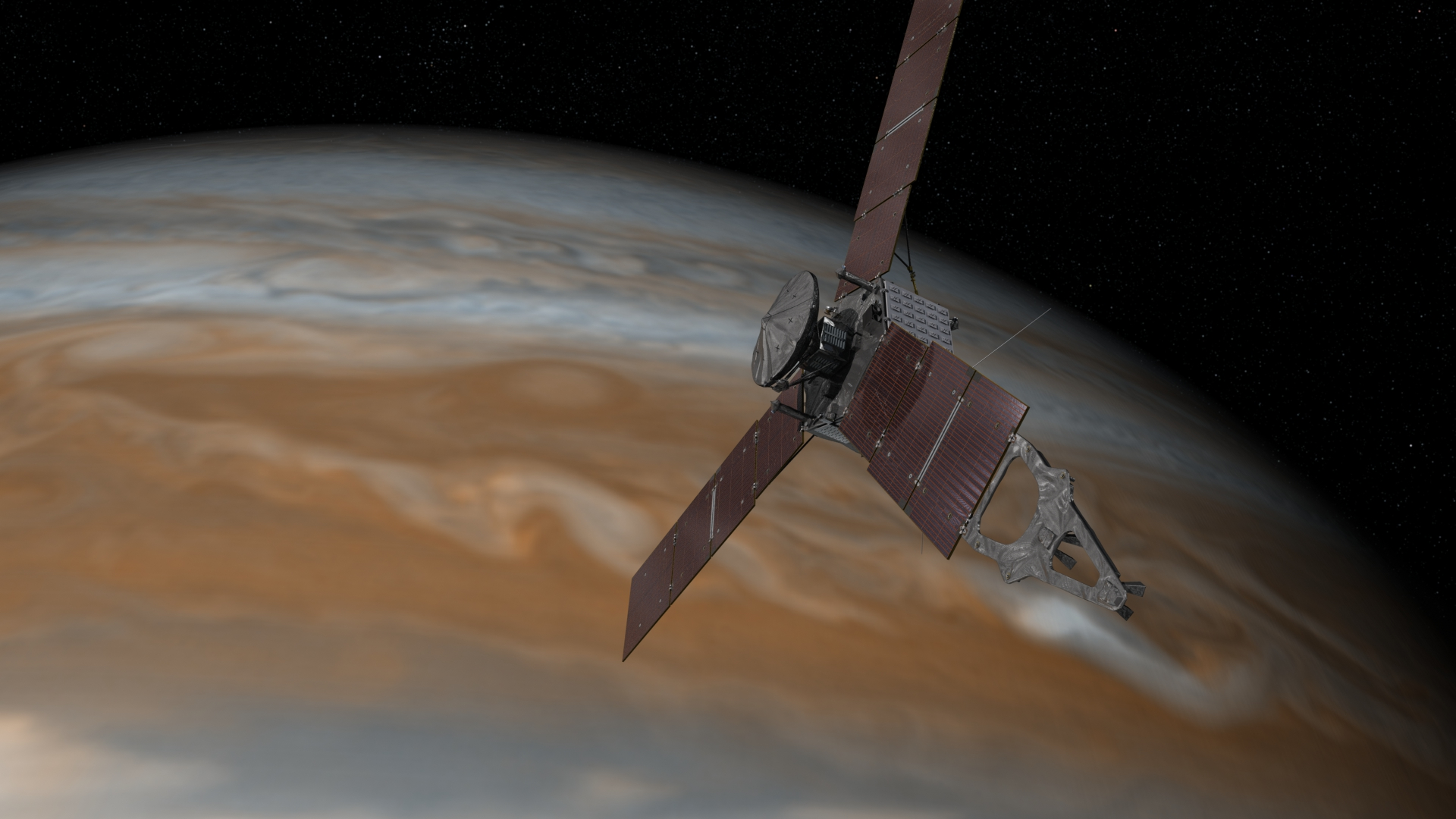 Mission To Jupiter Infrared Video Of A Hovering Nasa Lander Prepares Its Probe Juno For Arrival Blogger Avatarby Jon Fingas July 08 2015
