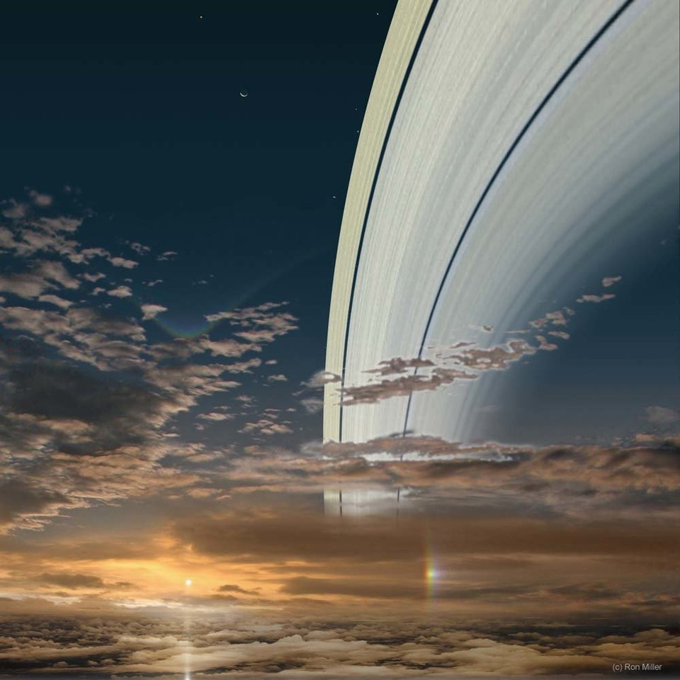 Mission to SaturnView Of Sun From Saturn